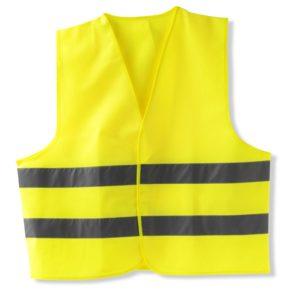 Жилет безопасности Elegant XXL светоотражающий желтый (100 594)