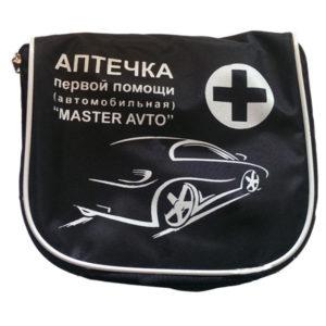 Аптечка автомобильная АМА-1 Master Avto (Черная)