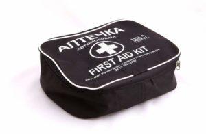 Аптечка автомобильная АМА-2 до 18 человек (Черная)