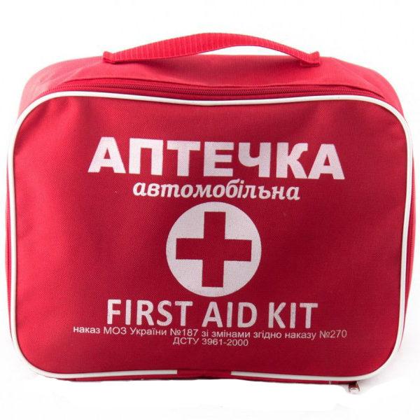 Аптечка автомобильная АМА-2 до 18 человек (Красная)