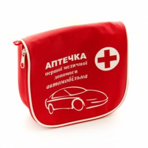 Аптечка автомобильная АМА-1 Master Avto (Красная)