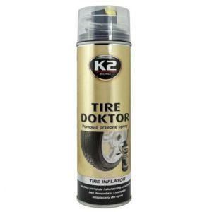 Вулканизатор шин K2 Tire Doctor аэрозоль 398 ml