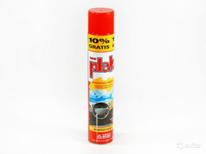 Полироль торпеды аэрозоль PLAK грейпфрут 750 ml