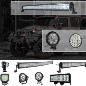Светодиодные фары и LED- Балки